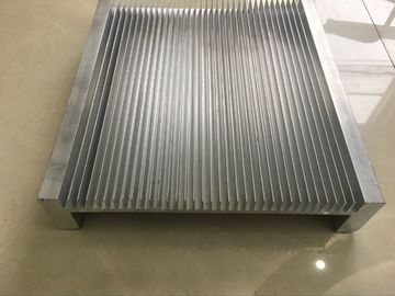 CNC Milling Aluminium Heat Sink Profiles , Big Aluminium Heatsink Profile